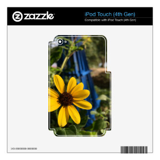 flower1.jpg decal for iPod touch 4G