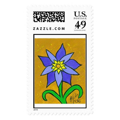 Flower22 Stamp