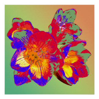 Flower26(poster1) Print
