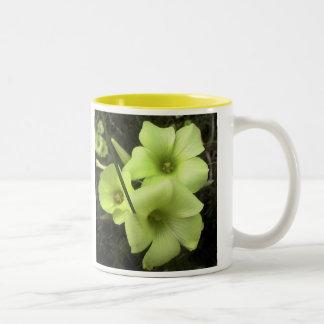 flower4 Two-Tone coffee mug