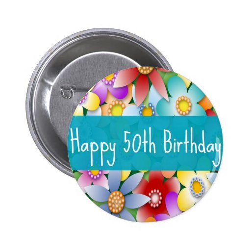 flower50th buttons