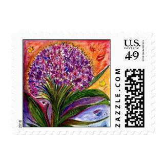 Flower56 stamp