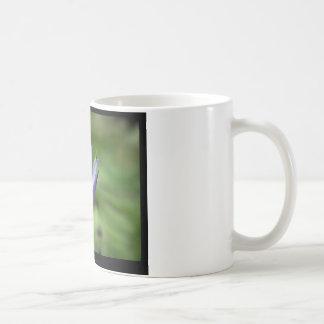 Flower 058 Blue Water Lily Coffee Mugs