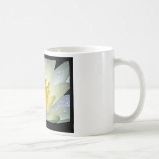 Flower 061 White Water Lily Coffee Mug