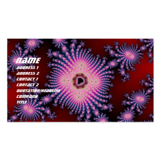 Flower 11 Double-Sided standard business cards (Pack of 100)