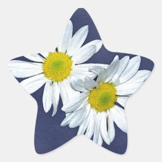 Flower 1 star sticker