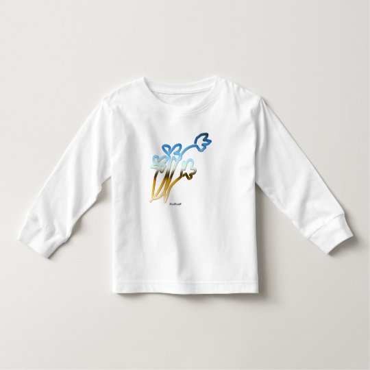 Flower 1 toddler t-shirt