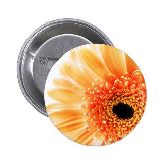 Flower 2 Inch Round Button