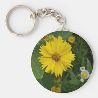 Flower 2 keychain