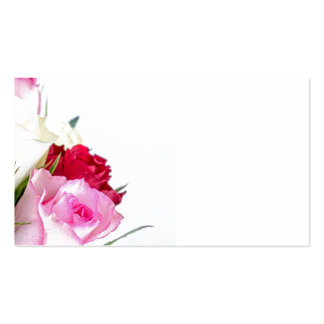 flower-316621 flower flowers rose love red pink ro Double-Sided standard business cards (Pack of 100)