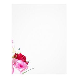 flower-316621 flower flowers rose love red pink ro letterhead design