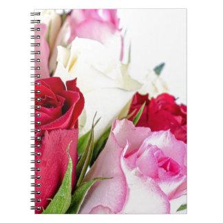 flower-316621 flower flowers rose love red pink ro notebooks