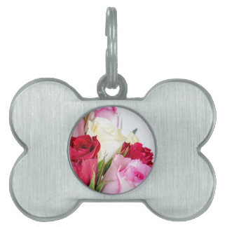flower-316621 flower flowers rose love red pink ro pet name tag