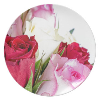 flower-316621 flower flowers rose love red pink ro party plates