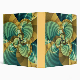 Flower 3 Ring Binder