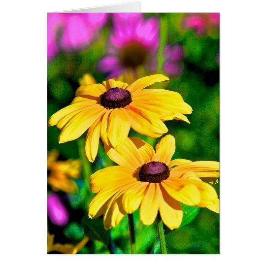 Flower 48 card