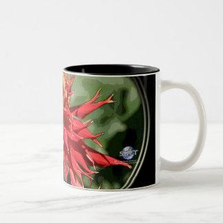FLOWER 4 Two-Tone COFFEE MUG