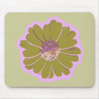 Flower #603 Logo Mouse Pad