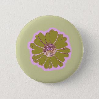 Flower #603 Logo Pinback Button