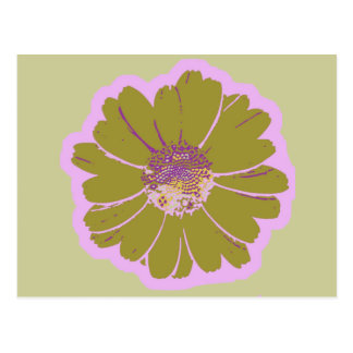 Flower #603 Logo Postcard