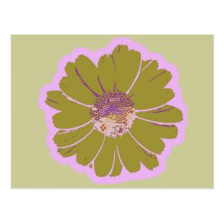 Flower #603 Logo Postcard