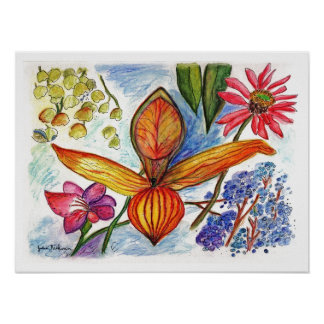 Flower 73-09 poster