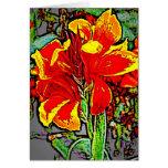 Flower 8 card