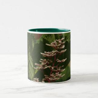 Flower  8 Two-Tone coffee mug
