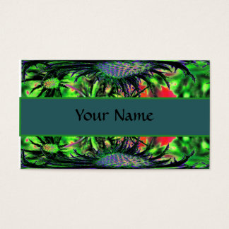 Flower Abstract Business Card