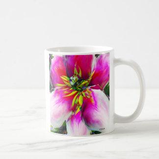 flower, abstract mug