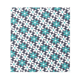 flower abstract pattern notepad