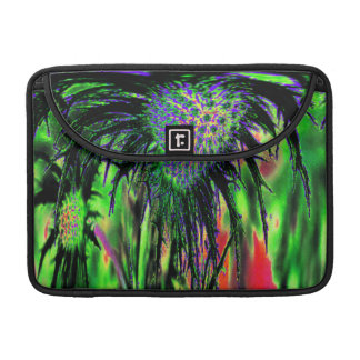 Flower Abstract Sleeve For MacBook Pro