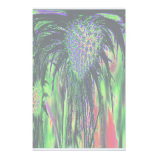 Flower Abstract Stationery