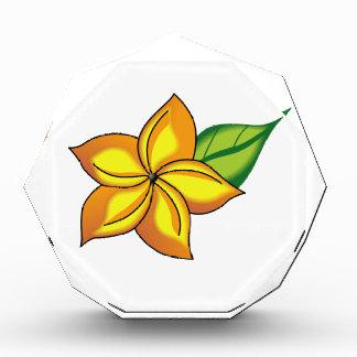 Flower Acrylic Award