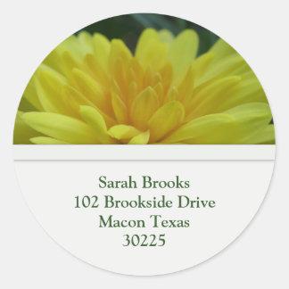 Flower Address Label
