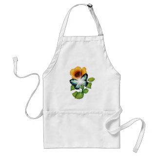 flower adult apron