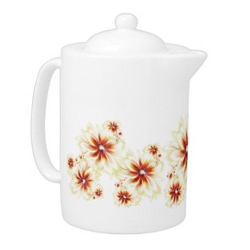 Flower again Teapot