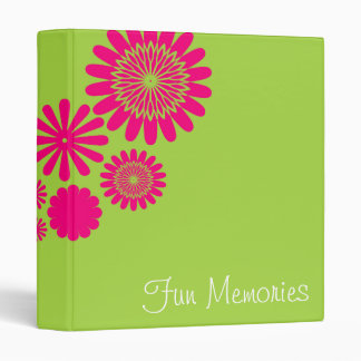 Flower All Over Binder