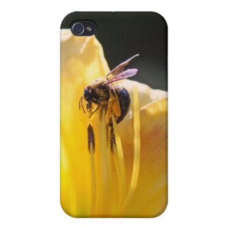 flower and bee mf iPhone 4 case
