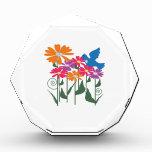 Flower And Bird Acrylic Award