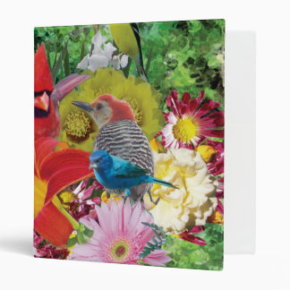 flower and bird medley binder