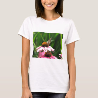 Flower and Butterfly Photo T-Shirt