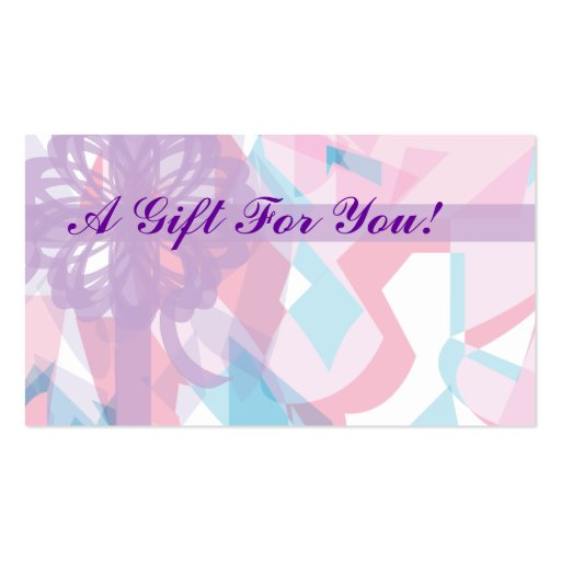 Flower And Gift Shop Card...-Customize Double-Sided Standard Business Cards (Pack Of 100)