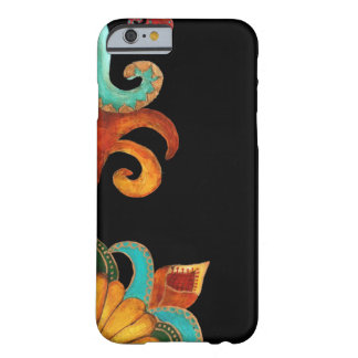 Flower and Swirls Barely There iPhone 6 Case