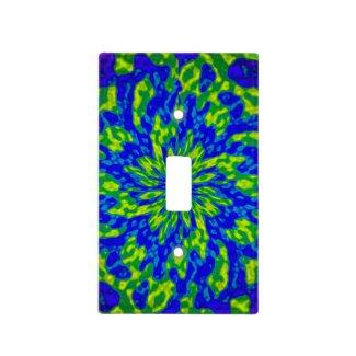 Flower and Swirls Mandala Light Switch Plates
