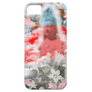 Flower and the Merciful Goddess 菩 薩 with Imabari c iPhone SE/5/5s Case