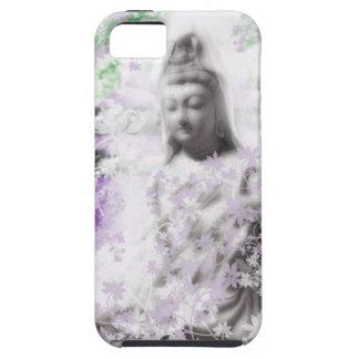 Flower and the Merciful Goddess 菩 薩 with Ise shrin iPhone 5 Cover