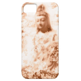 Flower and the Merciful Goddess 菩 薩 with Ise shrin iPhone 5 Cases