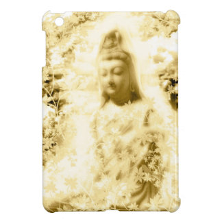 Flower and the Merciful Goddess 菩 薩 with Ise shrin iPad Mini Case