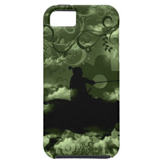 Flower and warrior iPhone 5 cover
